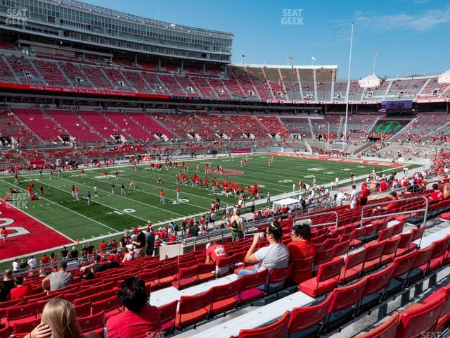 Ohio Stadium Section 28 A view