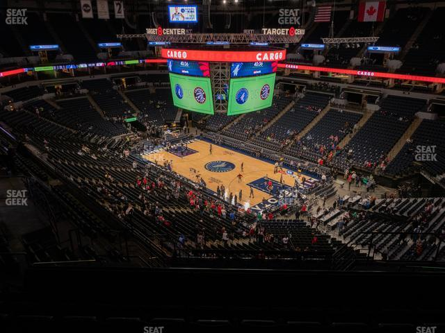 Target Center Section 226 view