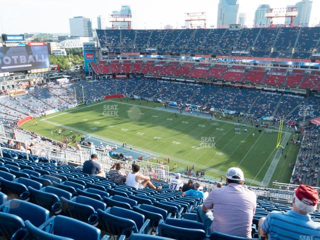 Nissan Stadium Section 307 view