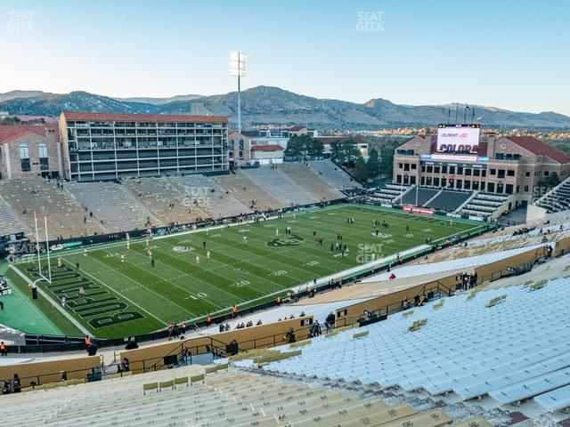 Folsom Field Section 553 view
