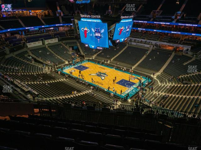 Spectrum Center Section 205 view