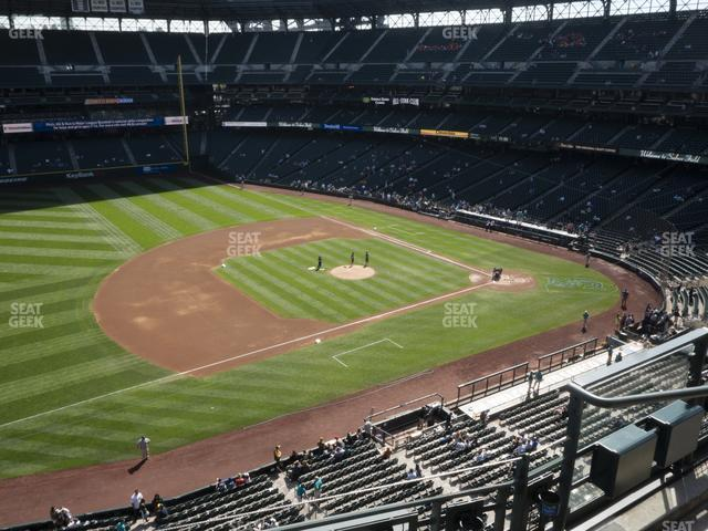 T-Mobile Park Section 341 view