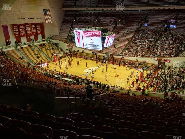 Assembly Hall - IN Section B view