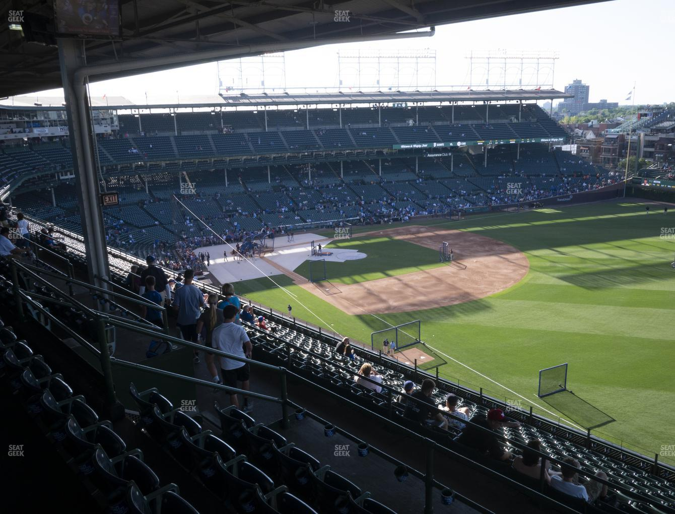 Chicago Cubs at Wrigley Field 430 Right View