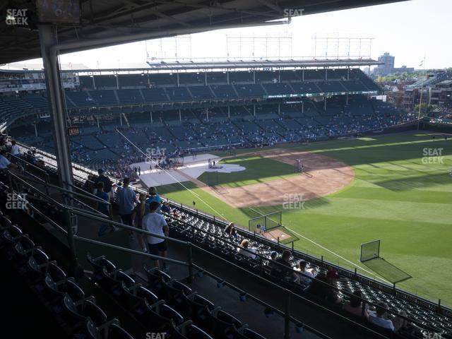 Wrigley Field 430 Right view