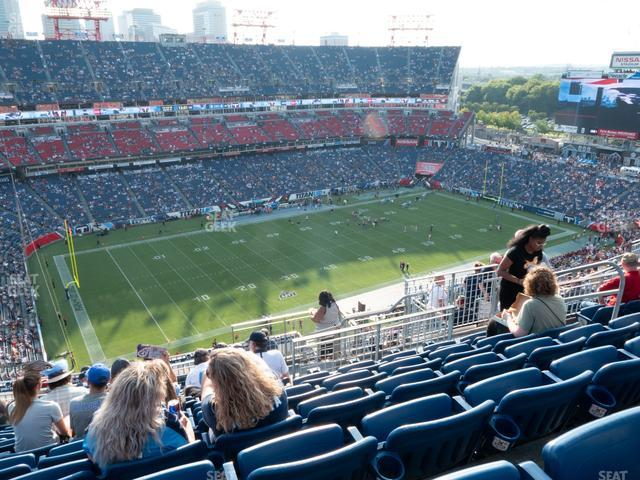 Nissan Stadium Section 317 view