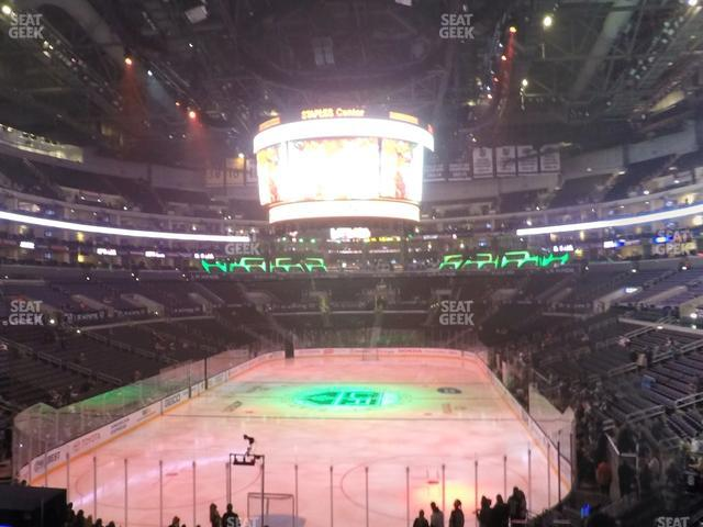 Staples Center Section 207 view