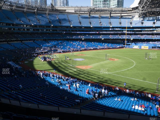 Rogers Centre Section 214 R view