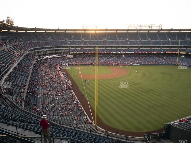 Angel Stadium of Anaheim Section 539 view