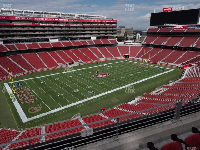 Levi's Stadium Section 319 view