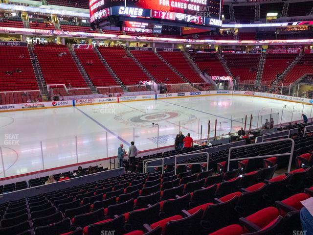 PNC Arena Section 121 view