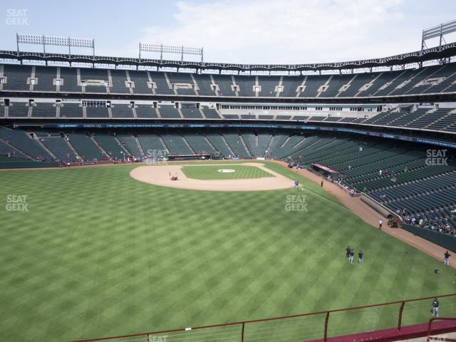 Globe Life Park Section 202 view