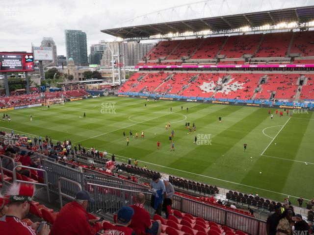 BMO Field Section 220 view