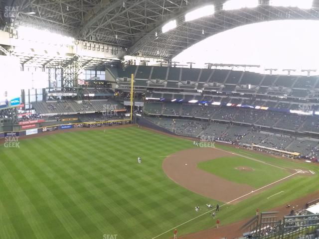 Miller Park Section 436 view