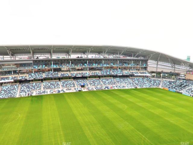 Allianz Field Section 115 view