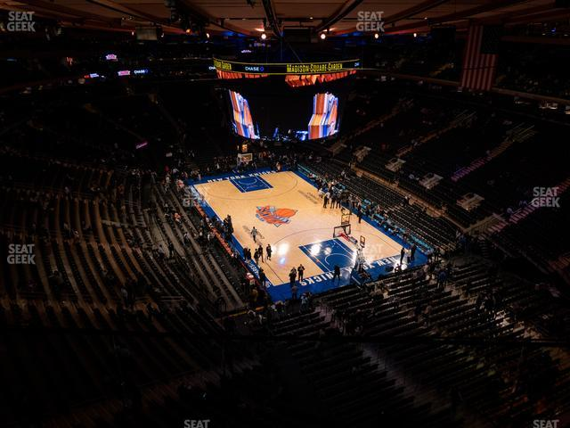 Madison Square Garden Section 318 view
