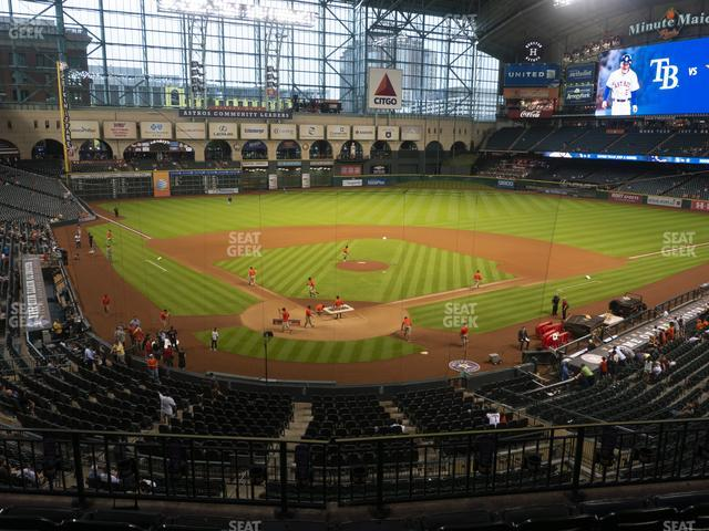 Minute Maid Park Section 220 view