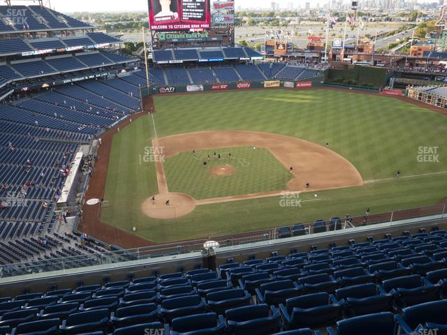 Citizens Bank Park Section 417 view