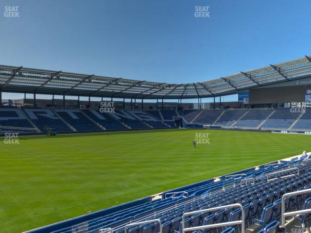 Children's Mercy Park Section 102 view