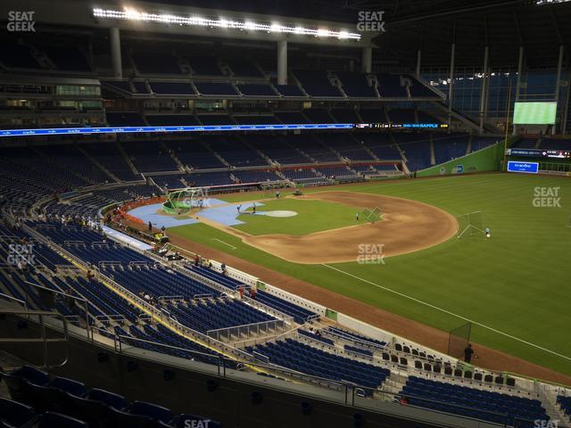 Marlins Park Section 204 view