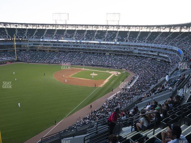 Guaranteed Rate Field Section 555 view