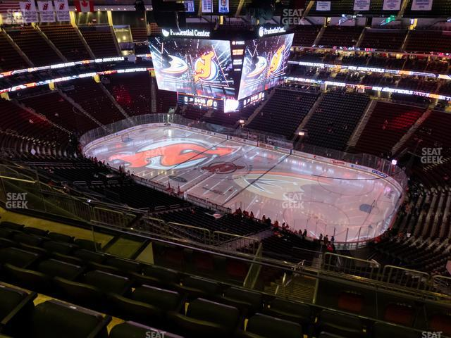 Prudential Center Section 215 view