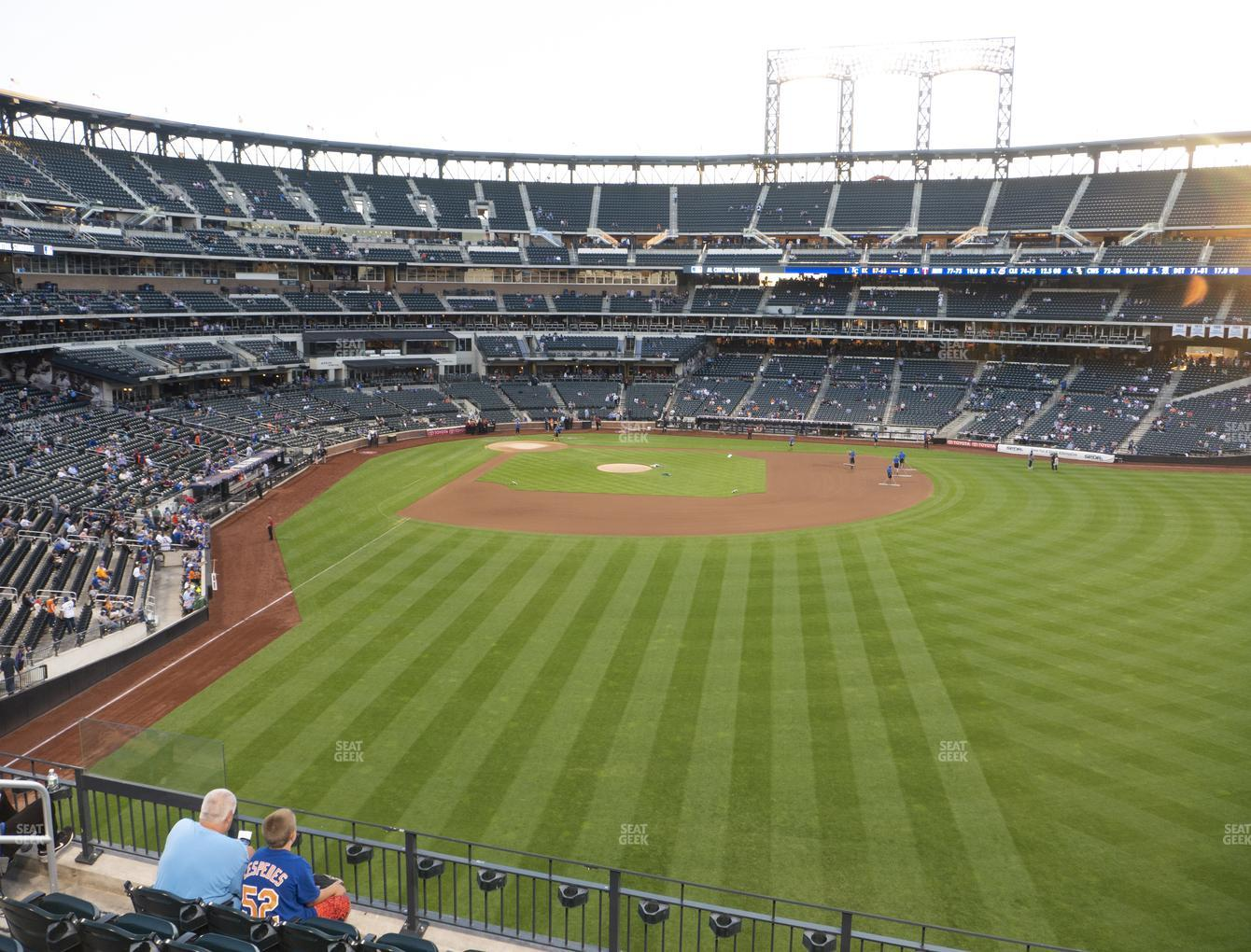 New York Mets at Citi Field Section 301 View