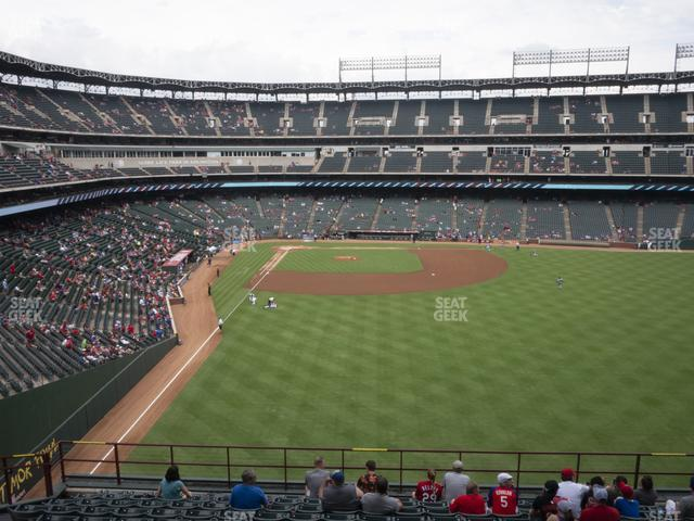 Globe Life Park Section 247 view