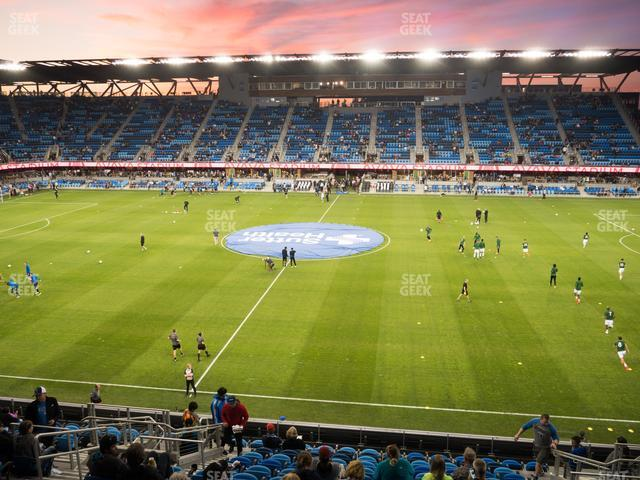 Avaya Stadium Section 130 view