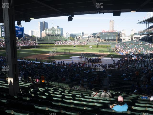 Wrigley Field Section 215 view