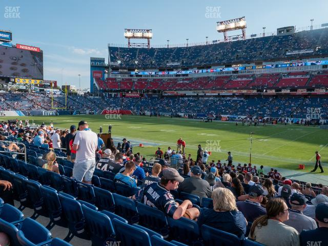 Nissan Stadium Section 109 view