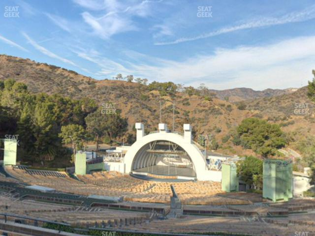 Hollywood Bowl Section Q 1 view