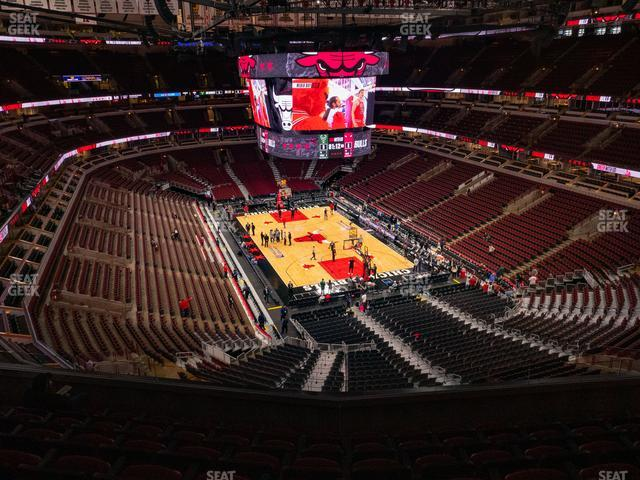 United Center Section 311 view