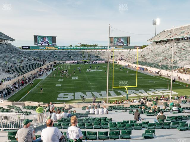 Spartan Stadium Section 17 view