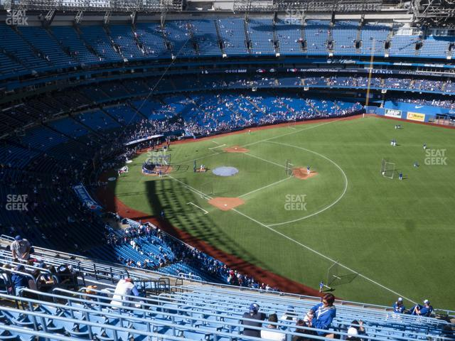 Rogers Centre Section 513 R view