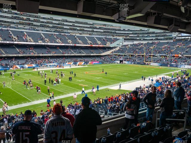 Soldier Field Section 243 view