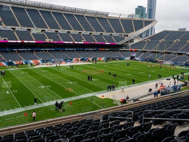Soldier Field Section 213 view