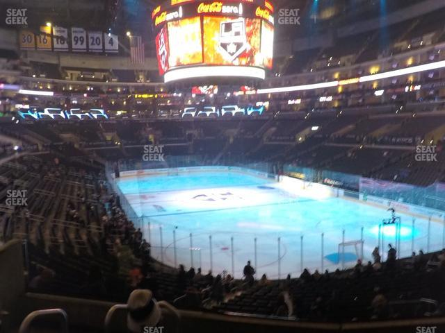 Staples Center Section 209 view