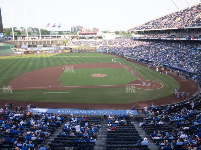 Kauffman Stadium Section 308 view