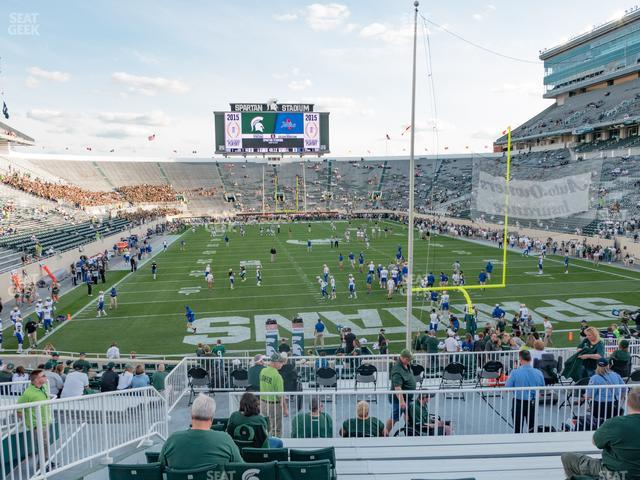 Spartan Stadium Section 2 view