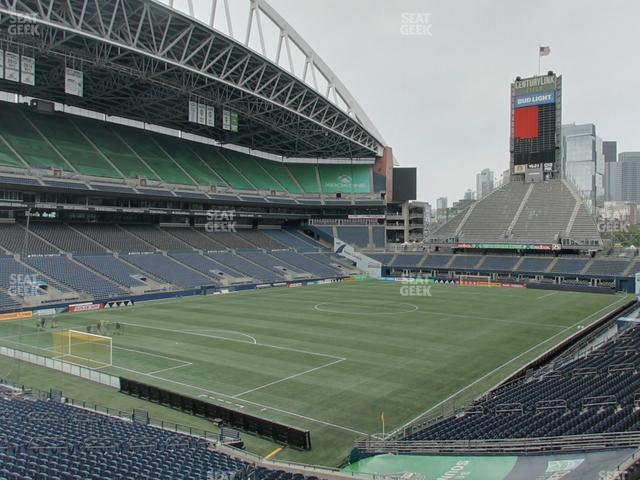 CenturyLink Field Section 117 view