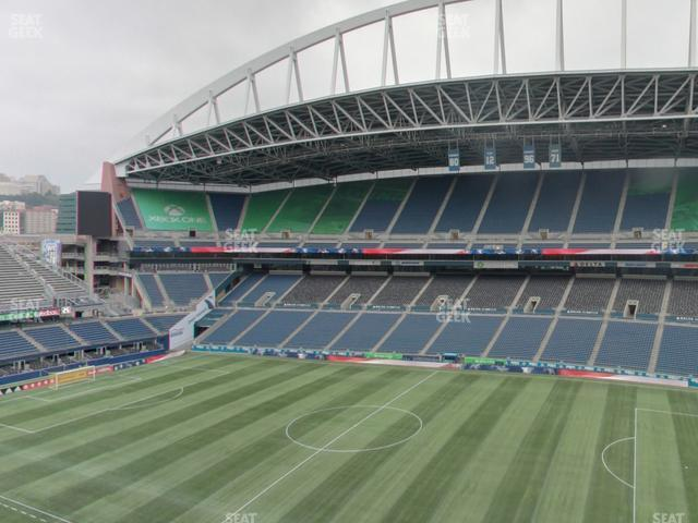 CenturyLink Field Lower 332 view