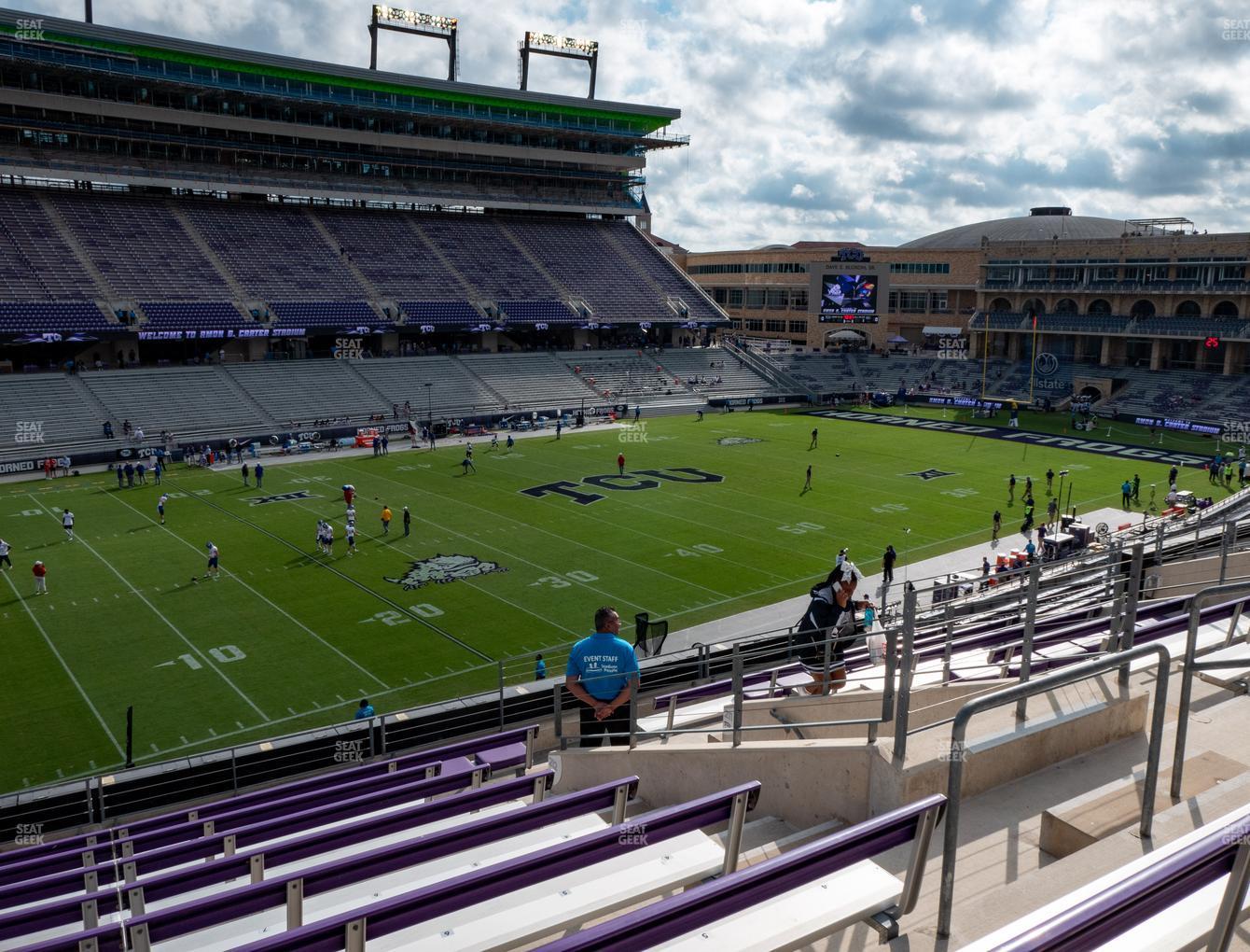 Amon G. Carter Stadium Section 212 Seat Views | SeatGeek