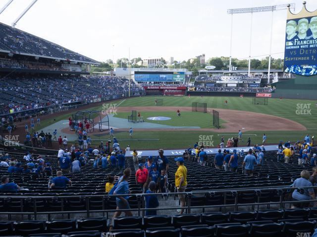 Kauffman Stadium Section 232 view