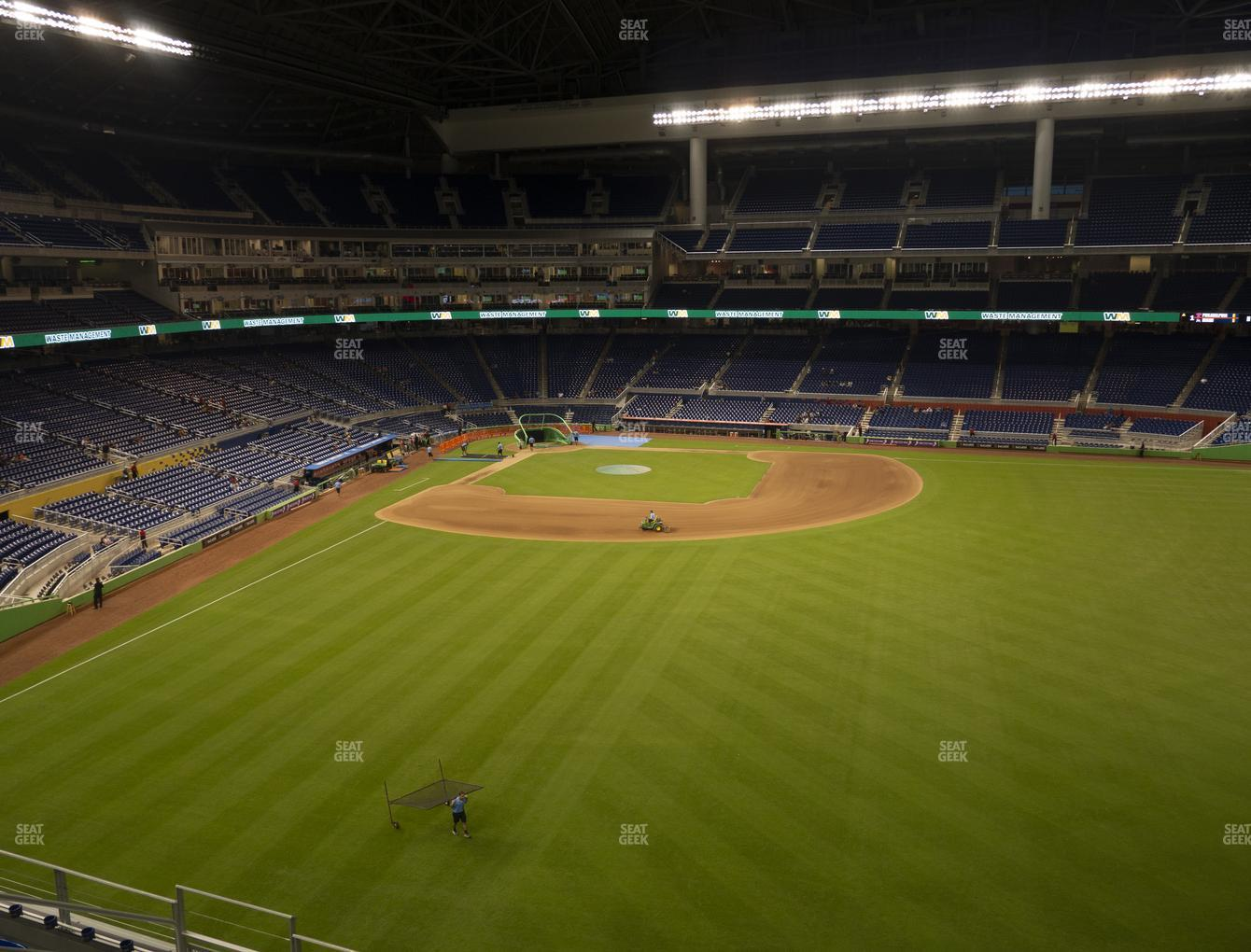 Miami Marlins at Marlins Park Section 138 View