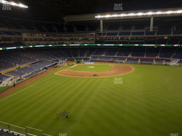 Marlins Park Section 138 view
