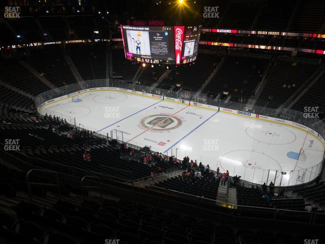 T-Mobile Arena Section 208 view
