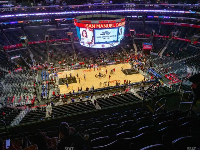 Staples Center Section 319 view
