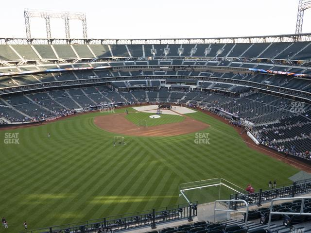 Citi Field Section 538 view