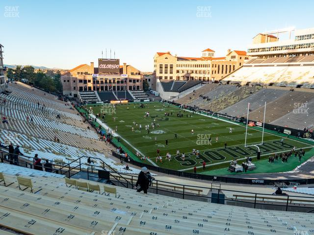 Folsom Field Section 206 view